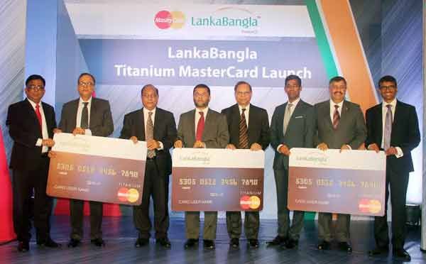 LankaBangla launches Titanium Master Credit card in Bangladesh