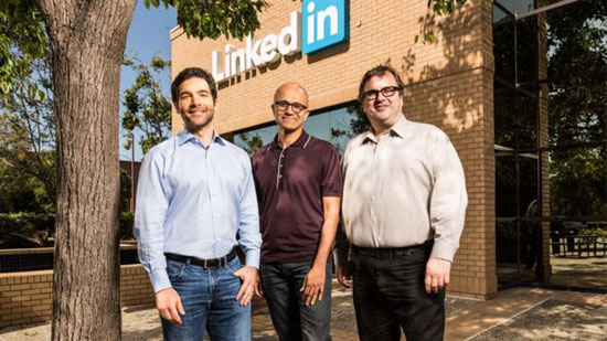 Microsoft to buy LinkedIn for $26bn