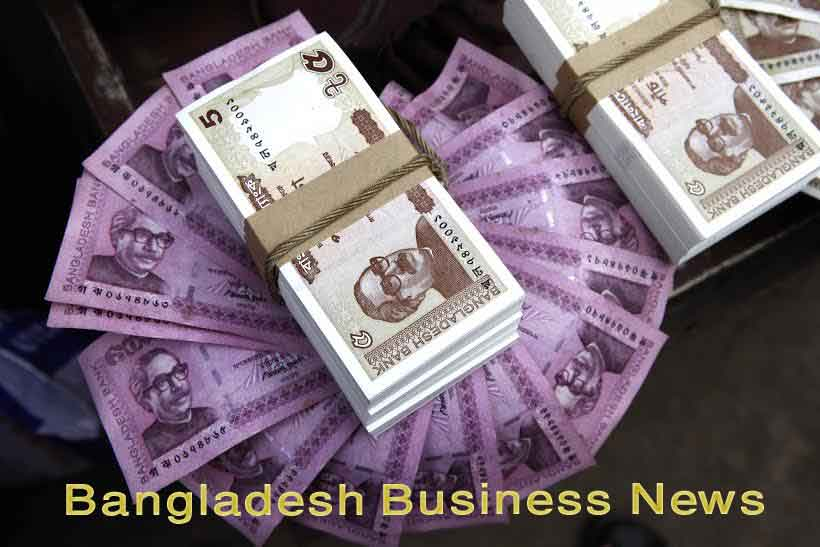 Bangladesh Taka depreciates five paisa more