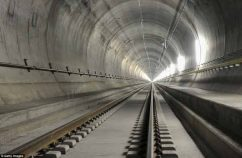 World's longest and deepest rail tunnel to open