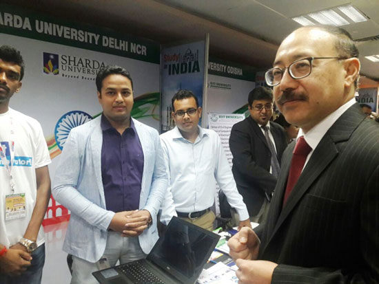 India education fair begins in Bangladesh