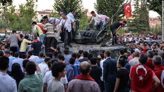 Coup attempt kills 60 in Turkish