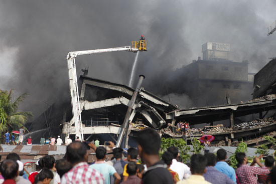 Bangladesh factory fire: Death toll rises to 33