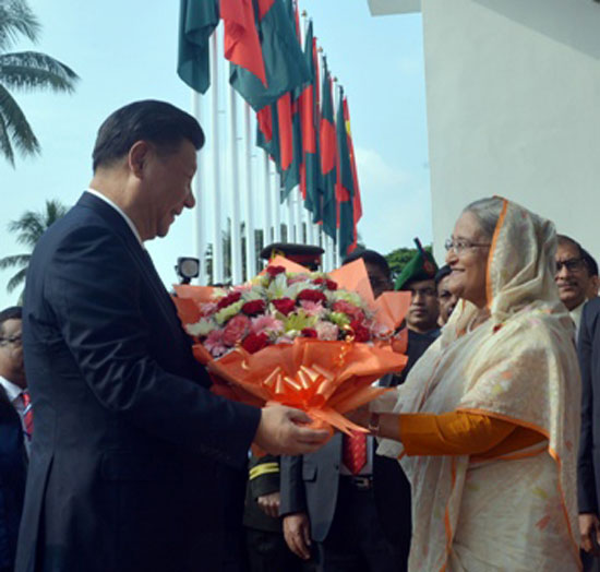 Bangladesh, China now strategic partners