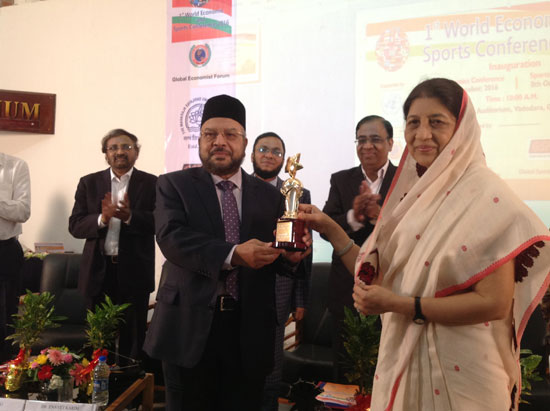 IBBL MD Mannan receives Sardar Patel Award