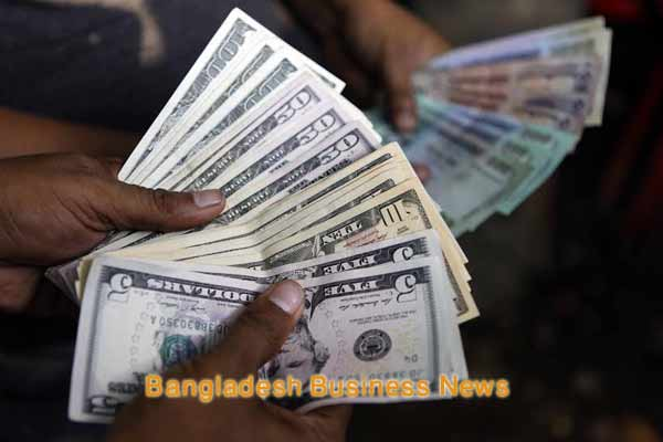 Bangladesh Taka appreciates by six paisa against US dollar at customer level