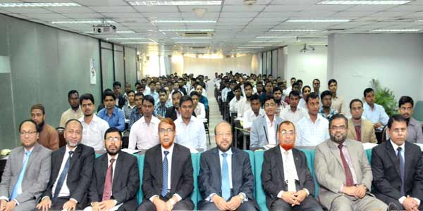 Orientation programme to IBBL field officers held