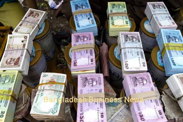 Bangladesh Taka depreciates by 3 paisa against US$