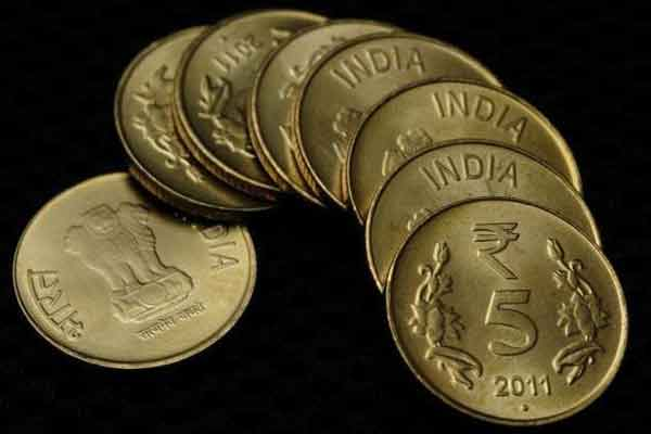 Indian rupee up 6 paisa at 64.39