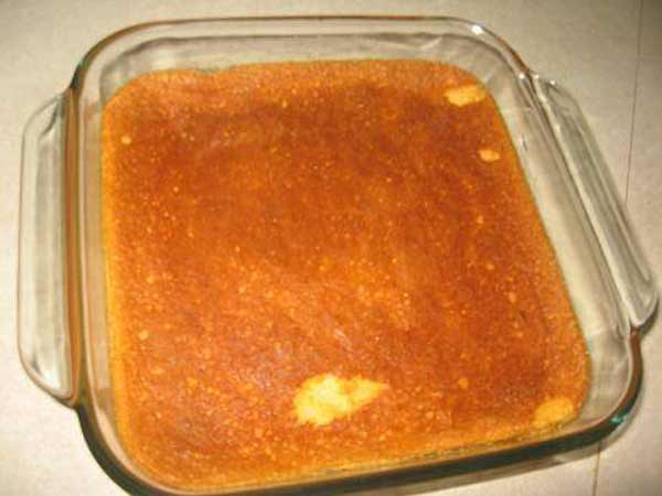 How to make delicious Orange Pudding Cake