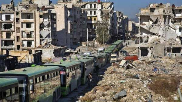 Thousands growing desperate in Aleppo