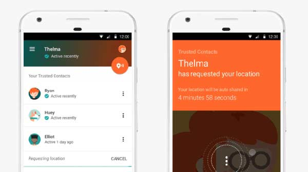 Google's new app will find you in an emergency