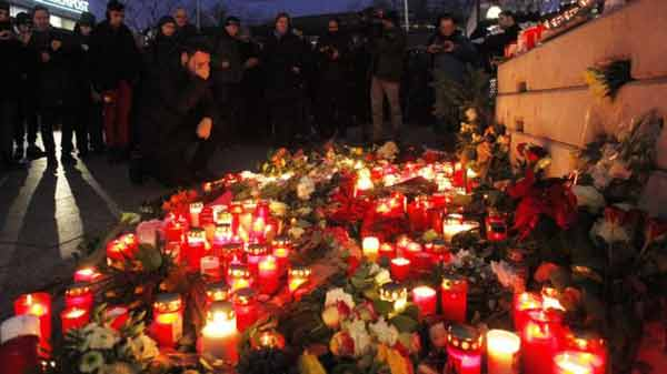 Urgent hunt for Berlin attack which kills 12
