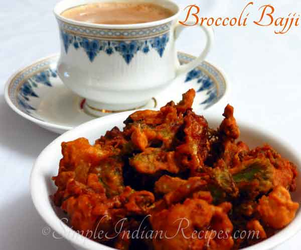 Recipe for yummy yammy Broccoli Pakora