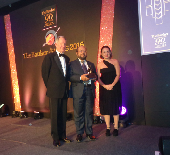 IBBL receives 'Bank of the Year Award 2016'