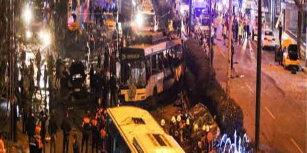 Blasts near Istanbul soccer stadium kill 29