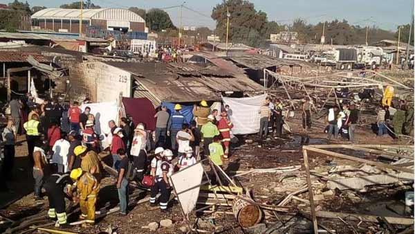 Mexico fireworks market blast kills 29