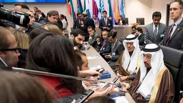 Oil price soars as Opec agrees output cut