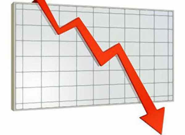 Sensex closes down, makes it 5th day in a row