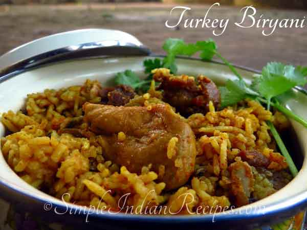 Do you know the recipe of Turkey Biryani?