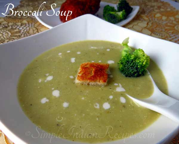 Let's try tasty Broccoli soup