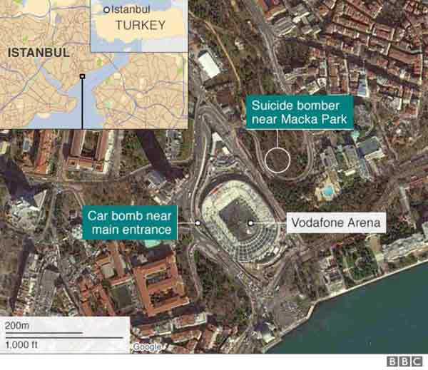 Istanbul attacks: Turkey points finger at PKK