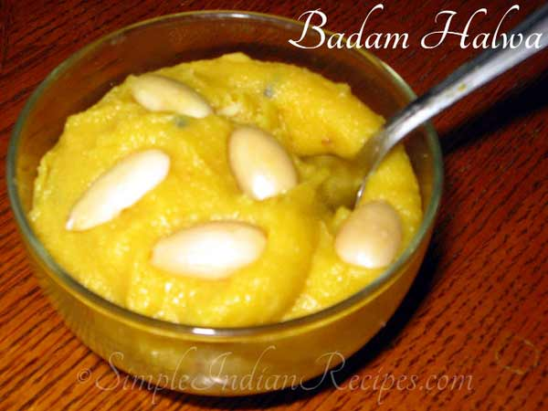 Cheers with mouth-watering Badam halwa!