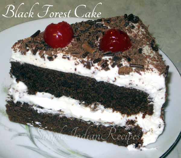 You won't miss this delicious Black Forest Cake recipe in Christmas