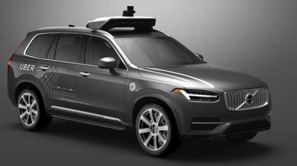 Uber halts California self-driving cars test