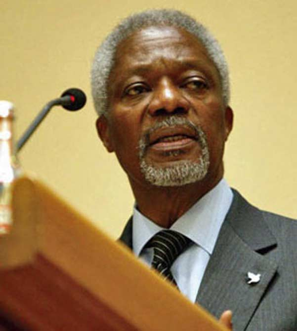 Kofi Annan downplays claims of Myanmar genocide