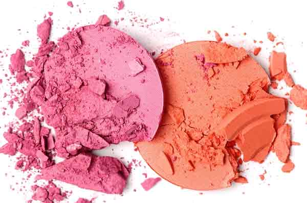 How to fix a broken powder make-up