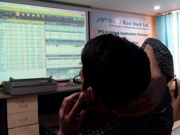 Bangladesh's stocks stay positive at midday on Tuesday