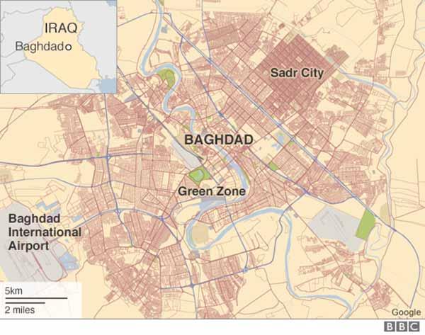 Baghdad suicide car bomb blast kills 35, injures 61