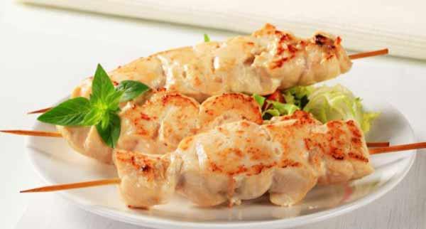 Chicken malai kebab, a different tasty recipe
