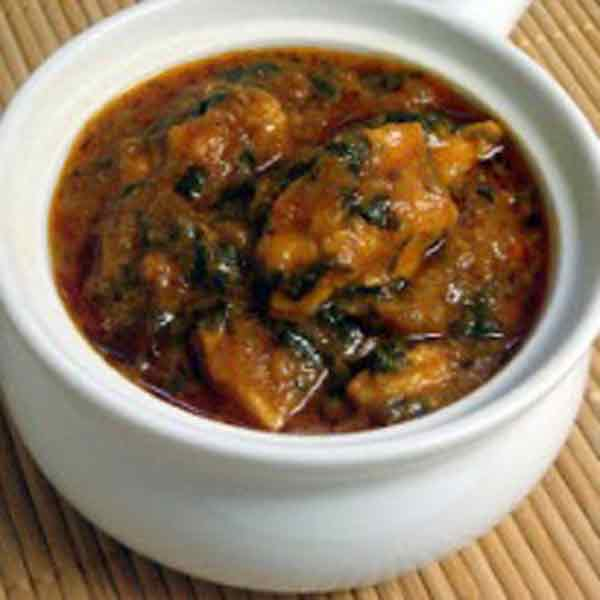 Spicy methi chicken, a delicious dish