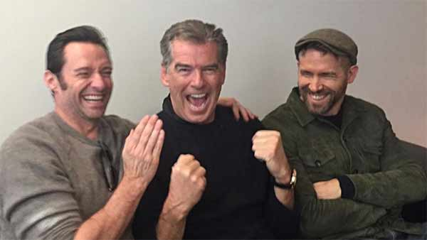 Is Pierce Brosnan joining Deadpool 2 to shake, stir things up?