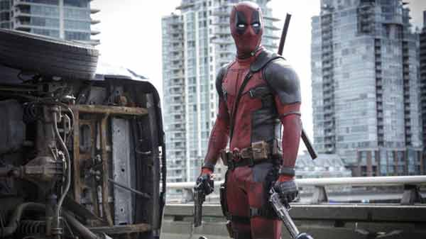 Deadpool for Writers Guild award