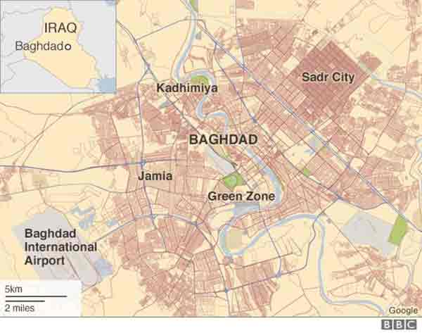 Iraq car bomb kills 11 in Baghdad