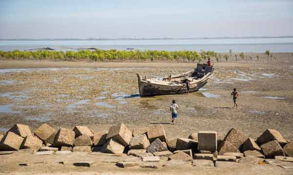 Climate change, disappearing fishing villages of Bangladesh