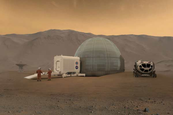 NASA's latest plan for housing astronauts on Mars: ice homes