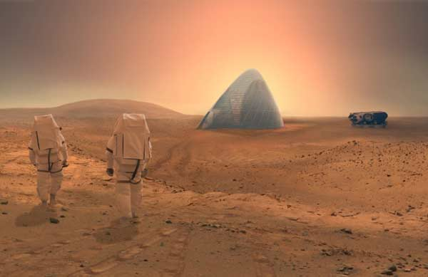 NASA fuels speculation about potential mars ice house
