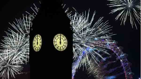 World celebrations ring in New Year