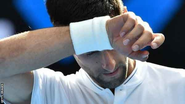 Six-time champion Djokovic knocked out by world number 117
