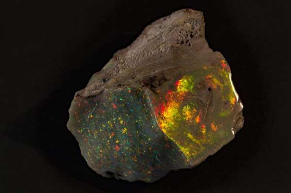Return of the world's finest uncut opal