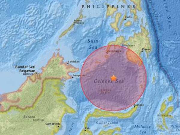 7.3 magnitude quake strikes Philippines