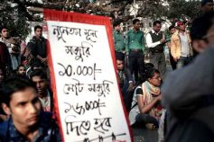 Protests in Bangladesh shake a global workshop for apparel