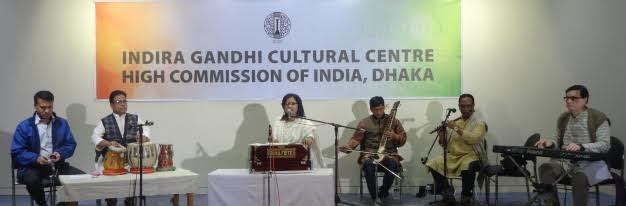 Rabeya Akter performs an evening of Rabindra Sangeet in Bangladesh