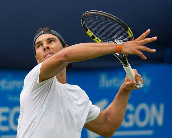 Ruthless Nadal reaches semi-finals