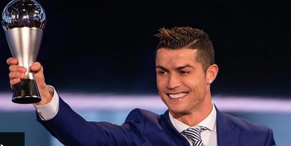 Ronaldo wins Fifa best player award