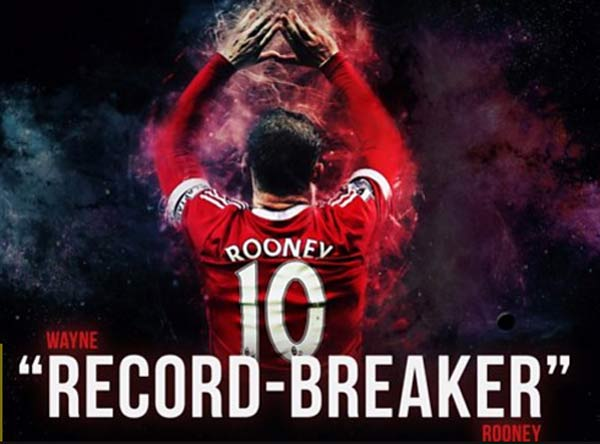 Wayne Rooney: Breaking Manchester United scoring record a huge honour